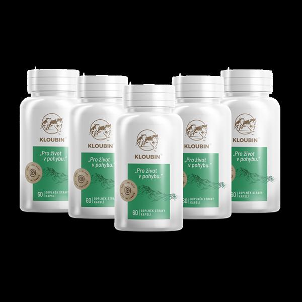 kloubin - kloubní výživa - 5 balení