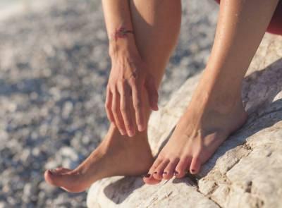 zánět šlach na noze